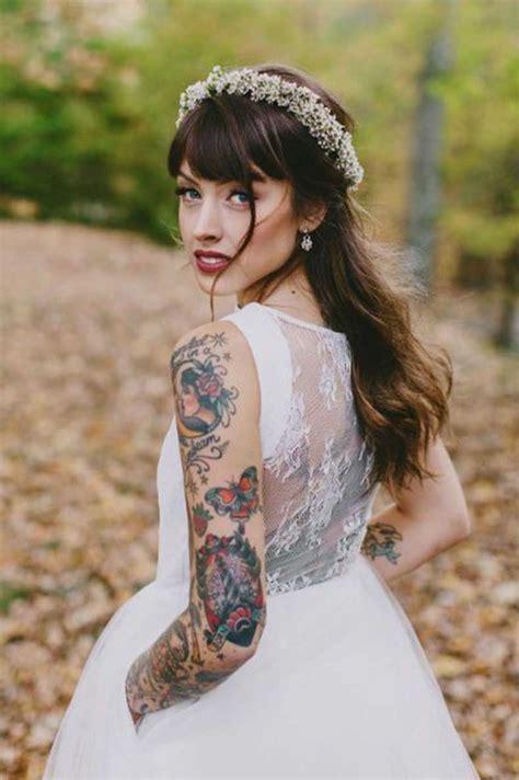 vaginas tatuadas con bien gusto las novias tatuadas mas bellas el dia de su boda