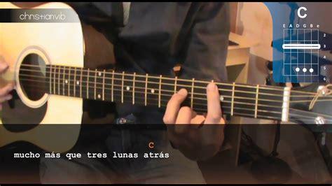 youtube tutorial de guitarra acustica c 243 mo tocar quot te quiero quot de ricardo arjona en guitarra