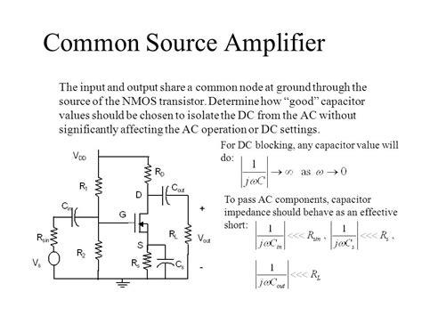 common source lifier resistor values common source lifier resistor values 28 images jfet and mosfet lifiers ppt vlsi design