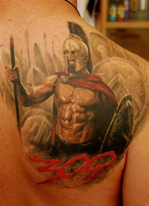tattoo hd images com colorful 300 spartans tattoo on chest by dmitriy samohin