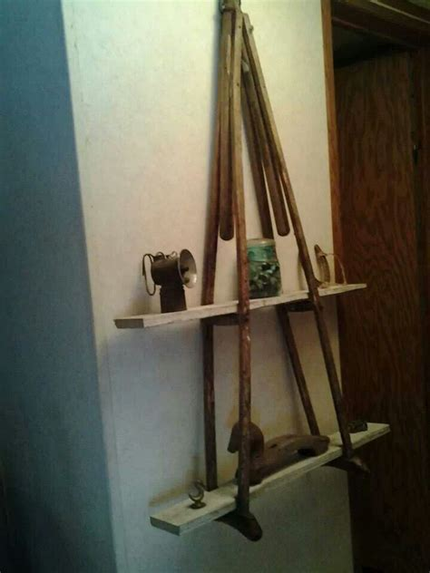 Shelf Made Out Of Crutches by Best 25 Crutches Shelf Ideas On