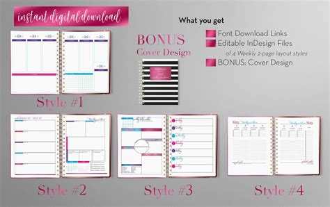 7 8 Indesign Newsletter Templates Proposalformstemplates Indesign Planner Template Free