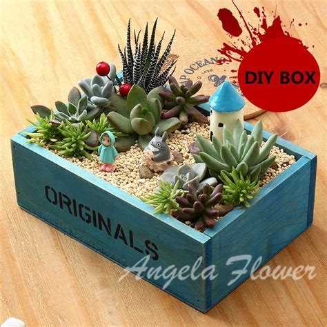 diy flower pot cookies recipe pictures photos and images aliexpress com buy diy storage boxes flower pots wooden