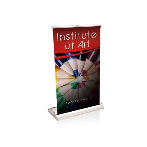 Tabletop Retractable Banner 11 Quot X 17 Quot Bracha Printing Table Top Banners