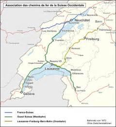 chemins de fer de la suisse occidentale
