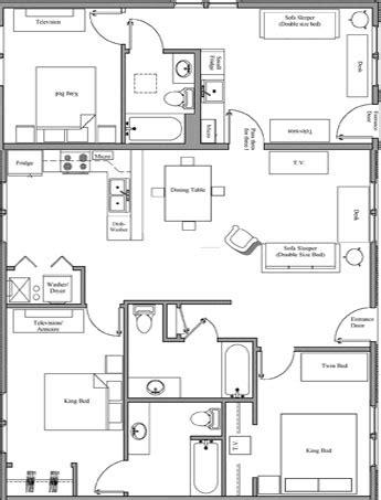3 bedroom layout design 3 bedroom villa nauvoo villas