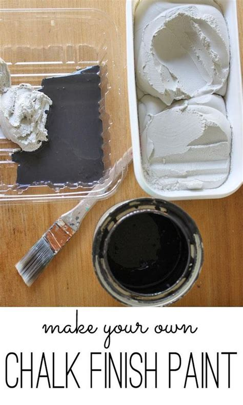 diy chalkboard recipe chalk finish paint recipe really easy diy project