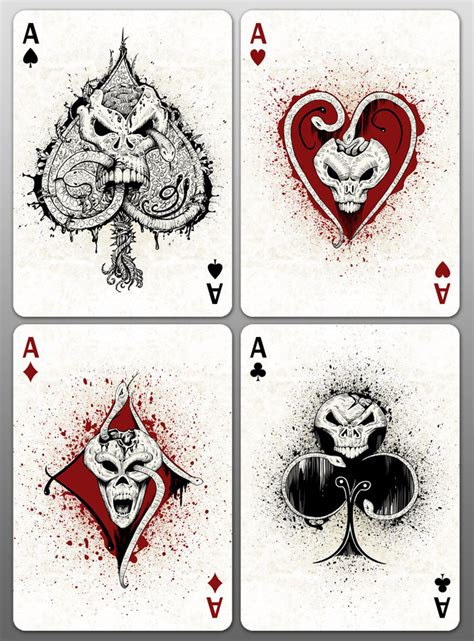 creepy deck this is it d page 2 playing card