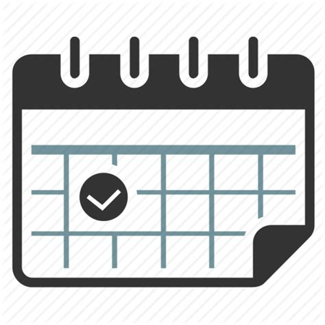 calendar date delivery event icon