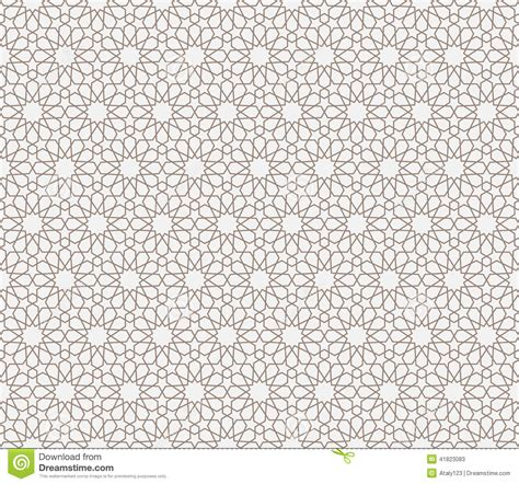 islamic web pattern arabian pattern stock vector illustration of seamless