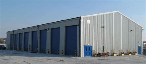 Industrial Steel Sheds by Commercial Building Exterior Finishes Studio Design