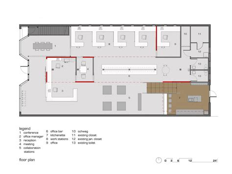 modern office floor plans andy s frozen custard home office dake design floor