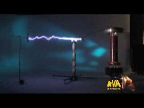 Tesla Beam Kva Effects Argon Cannon Tesla Coil