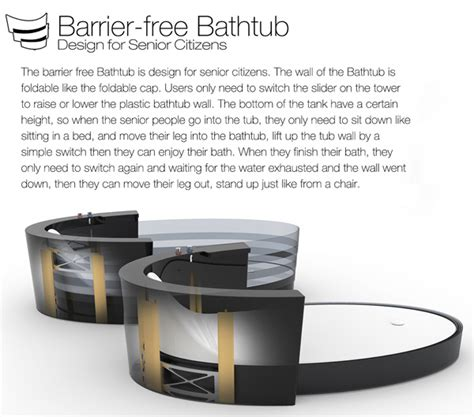 barrier free design quebec barrier free bathing yanko design