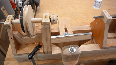 Handmade Lathe - lathe refinements