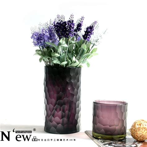 get cheap purple glass vases aliexpress