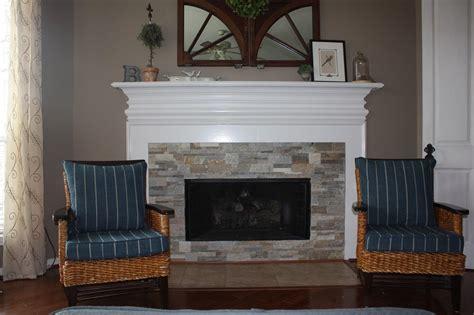 Fireplace Stones stack stone fireplace diy fireplace designs