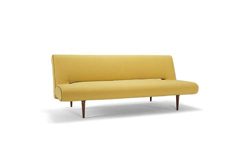 heavy use sofa bed unfurl sofa bed heavy natch soft mustard flower by innovation