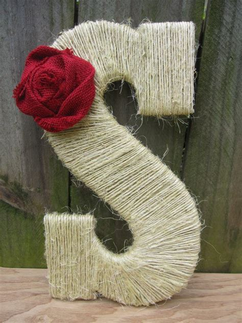 burlap covered letters 17 best ideas about twine wrapped letters on