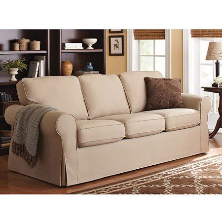 Sectional Slipcovers Walmart by Better Homes And Gardens Slip Cover Sofa Colors