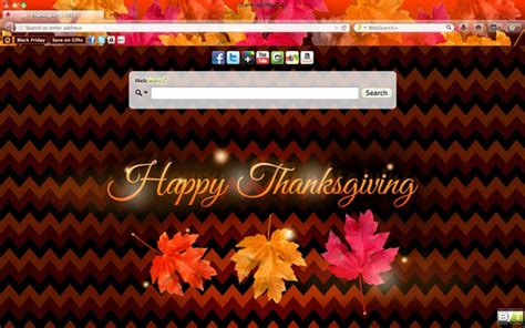 thanksgiving theme for google chrome thanksgiving themes theme of the week brand thunder