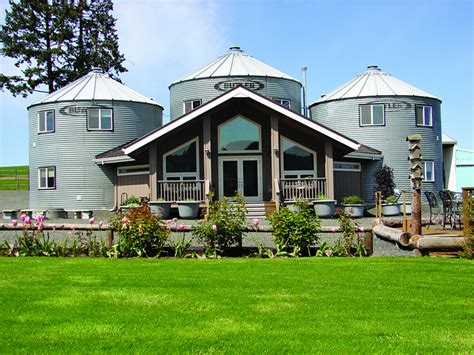 silos converted to houses non traditional homes
