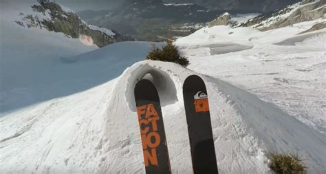 how to make flier pro skier candide thovex s newest video bends the laws of