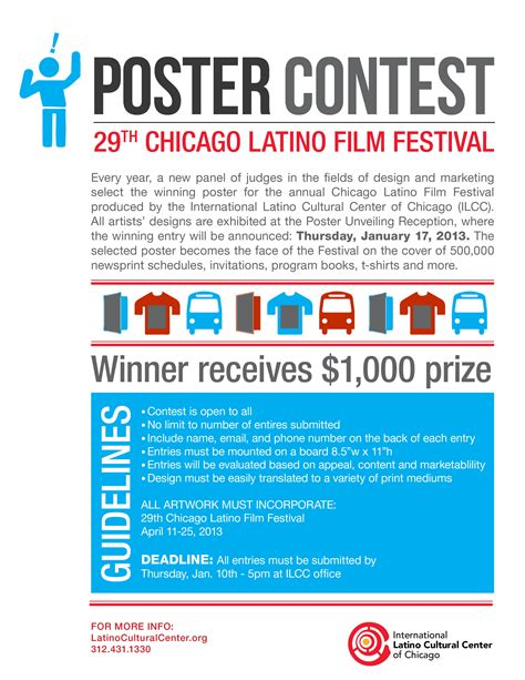 Poster Giveaway - poster contest ilcc