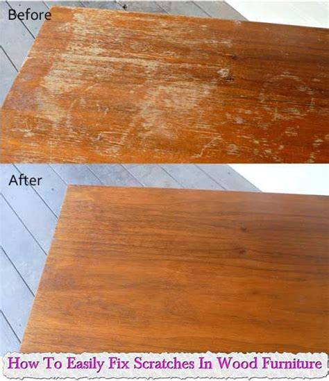 How To Fix Scratches On Wood Furniture by How To Easily Fix Scratches In Wood Furniture Cleaning