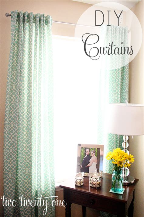diy valance curtain how to make curtains diy two twenty one