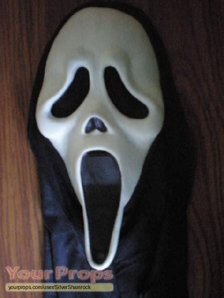 ghostface film scream 2 ghostface killer mask replica movie prop