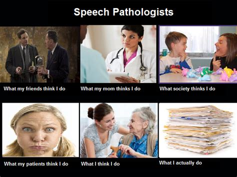Slp Memes - what do speech and language professionals do anyways slpchat