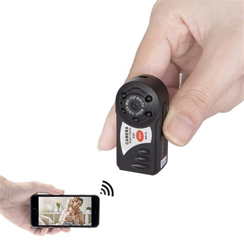 camaras minis mini portable p2p wifi ip camera indoor outdoor hd hidden