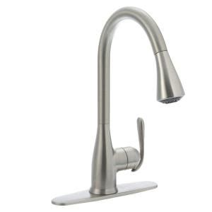 moen solidad single handle pull down sprayer kitchen moen haysfield single handle pull down sprayer kitchen