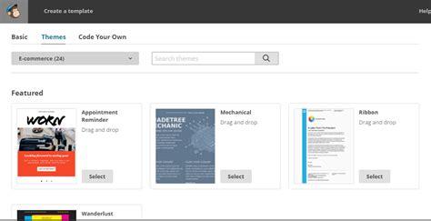 как создать почтовую рассылку в Mailchimp руководство для начинающих Create Your Own Mailchimp Template