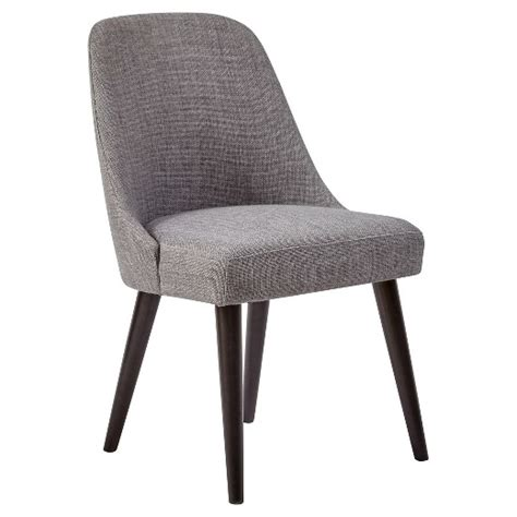 Grey Upholstered Dining Room Chairs by Alluring American Retrospective Upholstered Dining Chair
