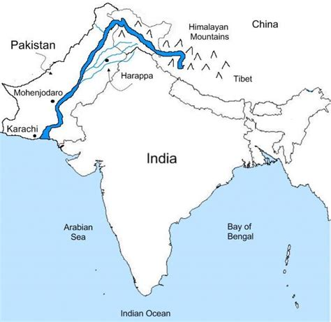 Galerry coloring page of map of pakistan