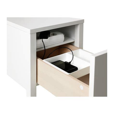 besta nachttisch nordli bedside table white 30x50 cm ikea
