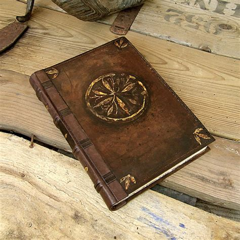 Air 5 Vintage Flowers Emboss Flowers Leather Cover vintage leather journal blank book brown leather an