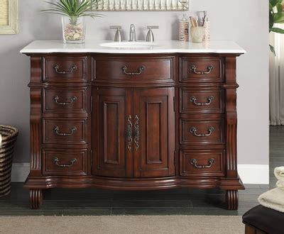 50 inch bathroom vanity 50 inch bathroom vanity single sink brown base white marble top