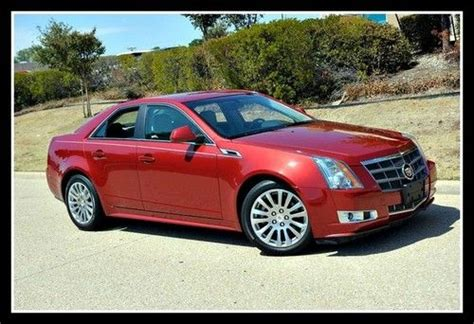 Cadillac Cts Warranty by Buy Used 2011 Cadillac Cts Sedan Performance Collection