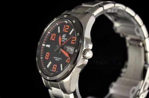 Jam G Ci Bulat Black jual casio edifice ef 132d 1a4v jam tangan casio