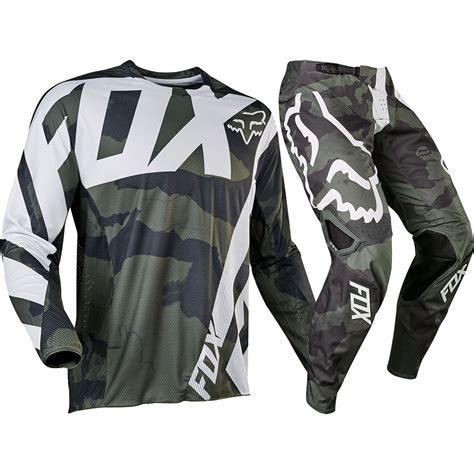camo motocross gear fox racing 2017 mx new 360 creo camo grey green jersey