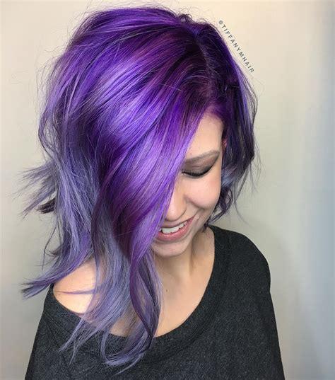 amethyst hair color smoky amethyst behindthechair