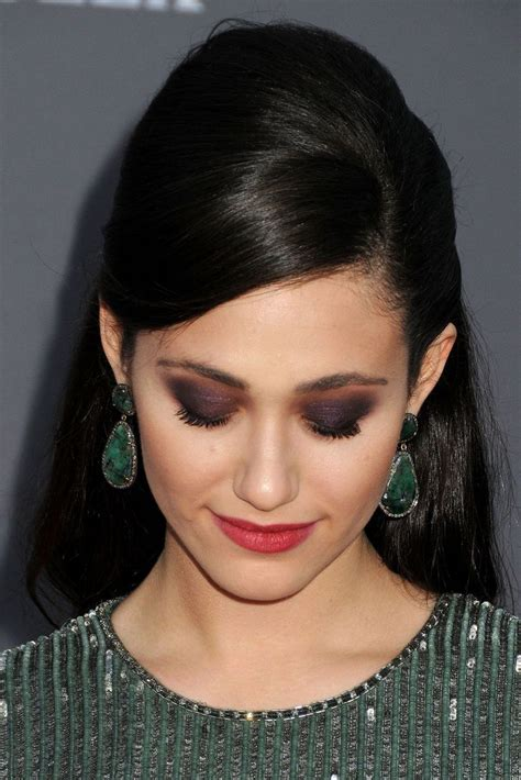 emmy rossum makeup emmy rossum hello lovely makeup the tres chic