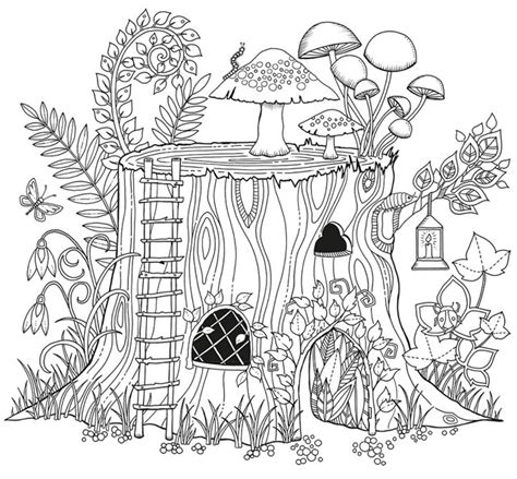 coloring pages for adults garden johanna basford kottke org
