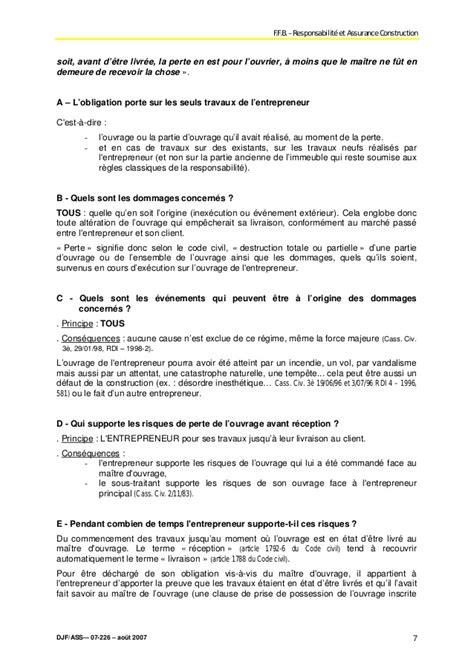 lettre garantie decennale - Modele de lettre type