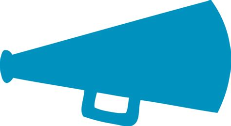 Megaphone Clipart cheer megaphone clipart