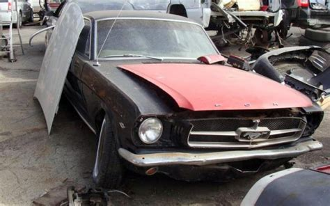 Mustang Auto Wrecking Yards by Daves Salvage Muscle Autos Post
