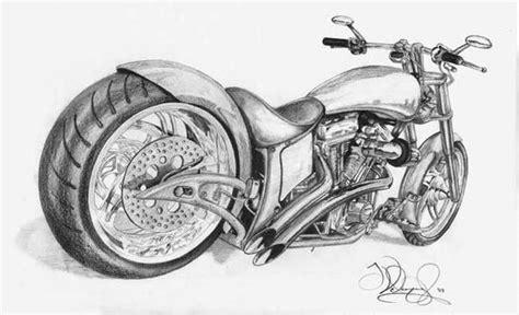 Motorrad Chopper Zeichnung by Chopper Drawing By J Swiph On Deviantart